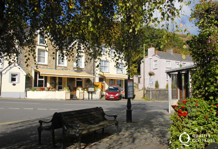 Goodwick coastal village with a variety of small shops and pubs to choose from