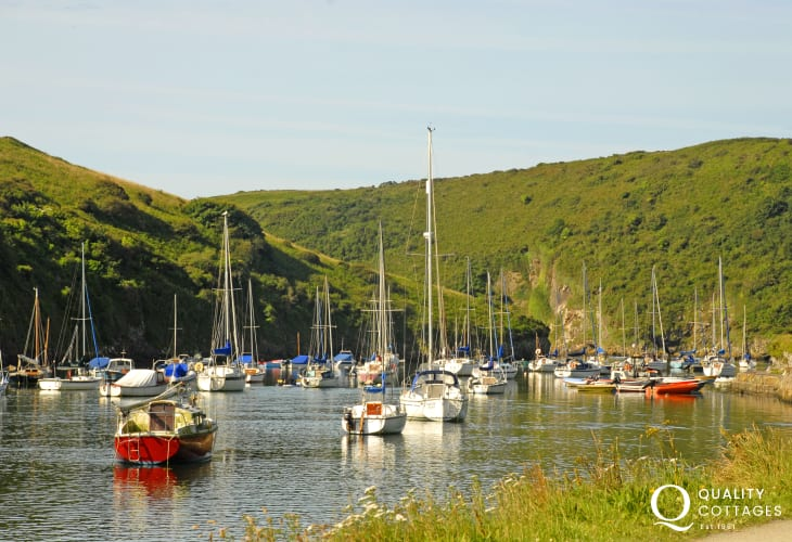 Solva with its picturesque harbour is a real jewel of the West Coast