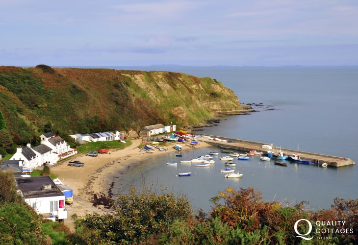 Nefyn is a small seaside resort renowned for its sandy beach and clean waters. Formally a resting place for many pilgrims on their way to Bardsey Island
