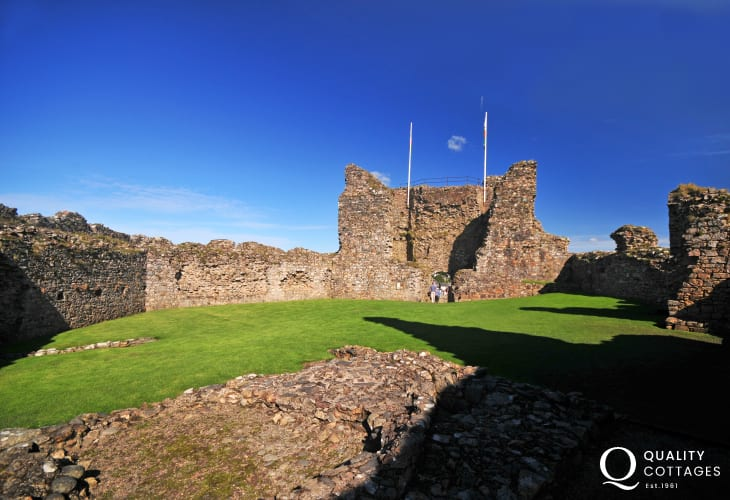 Criccieth castle (CADW), a great place to take in the views of Snowdonia