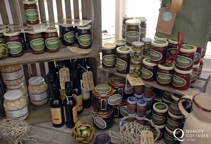 Fishguard Farmer's Market has lots of local produce on offer weekly