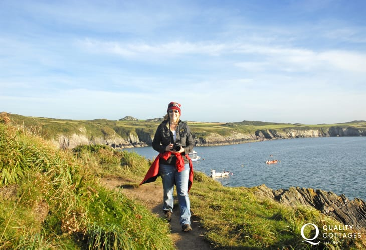 Pembrokeshire Coast Path offers fabulous cliff top walking