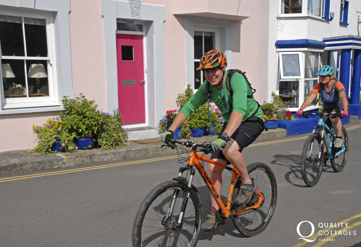 'Mikes Bikes' in Haverfordwest