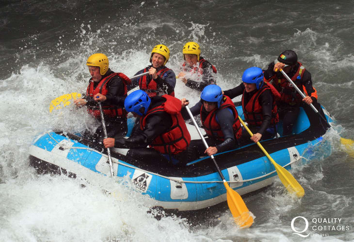 Paddlers Outdoor Activity Centre in Llandysul has a wide range of activities for the whole family. Choose from coasteering, climbing, abseiling, canoeing, kayaking, gorge walking and more