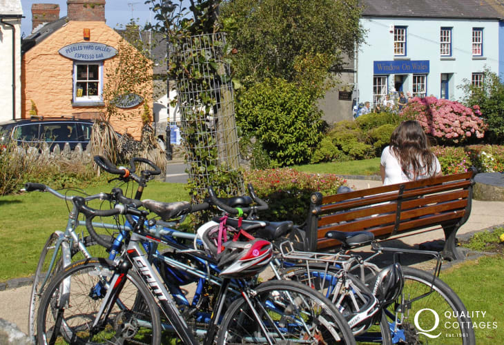 Explore Pembrokeshire by bike - TYF Activity Centre offer a full bike hire service