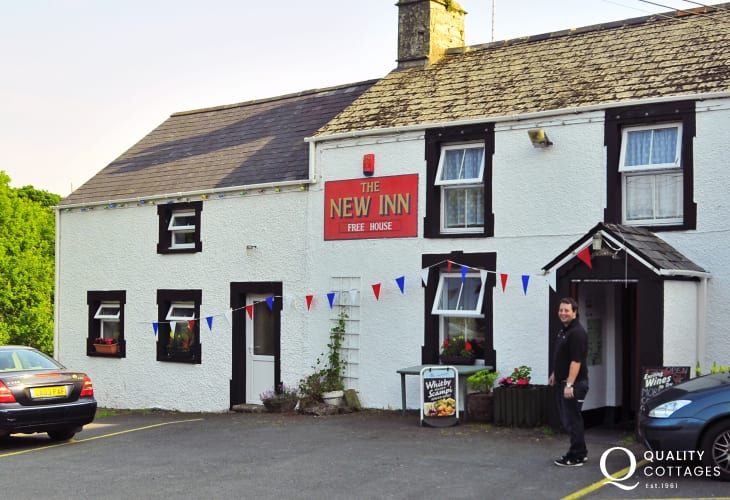 For a warm welcome and good home cooked food The New Inn probably serves 'the finest Sunday lunch in Cardiganshire'