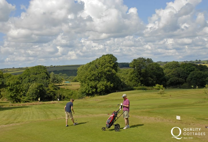 Pembrokeshire has a wide choice of excellent golf courses to choose from all within an easy drive