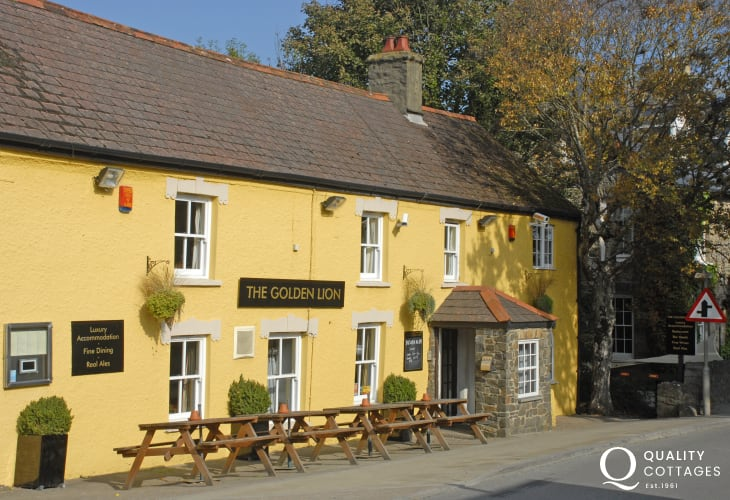 The Golden Lion, Newport - a traditional pub serving real ales, locally caught fresh fish and delicious homemade puddings