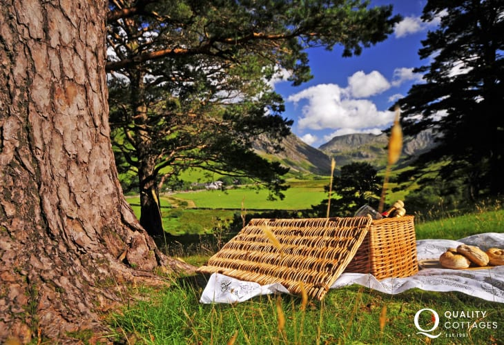 North Wales has a choice of beautiful valleys perfect for picnics