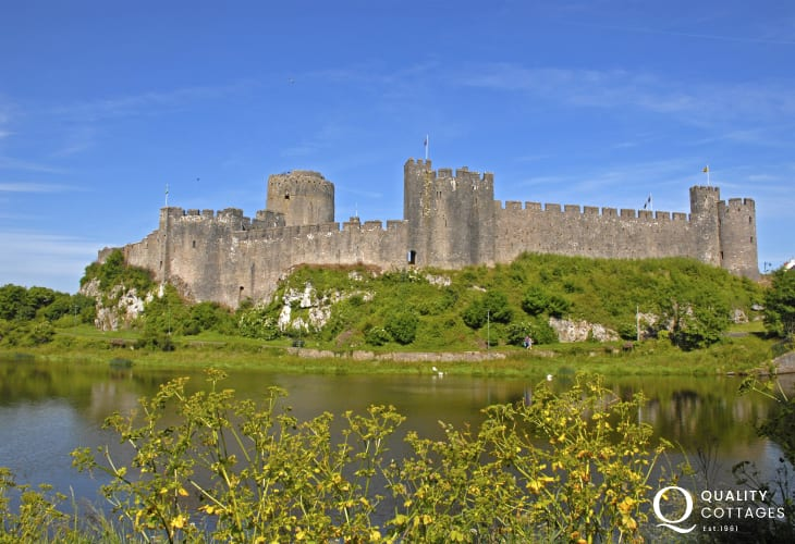 Pembroke Castle, birthplace of Henry VII