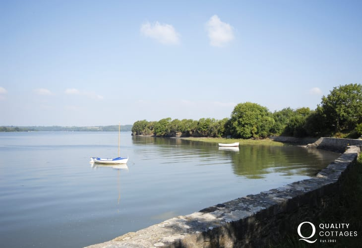 Peace and tranquility are yours along the water's edge at Landshipping Quay