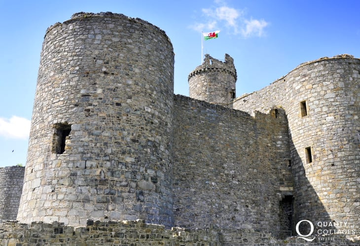 Visit Harlech Castle, a thrilling treat for all ages to enjoy