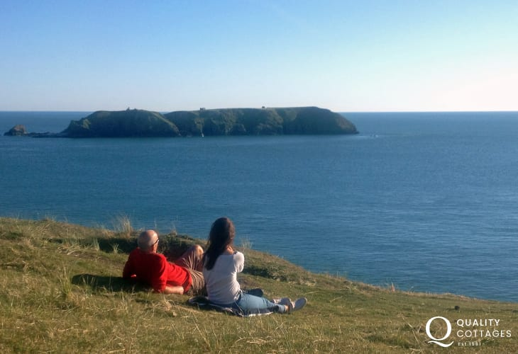 The Pembrokeshire Coast Path - 186 miles of glorious scenery and fabulous cliff top walking