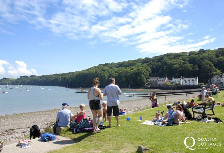 The coastal village of Dale has a wide variety of water sports to try out and an award winning pub serving real ales and home cooked food