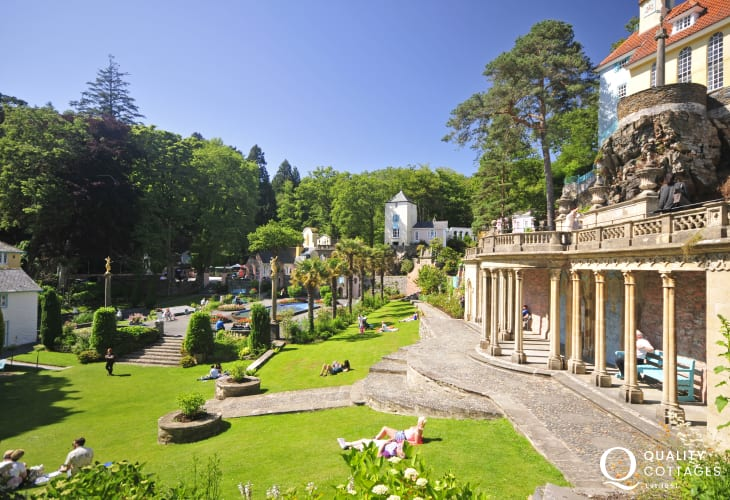 Portmeirion village near Porthmadog open all year round