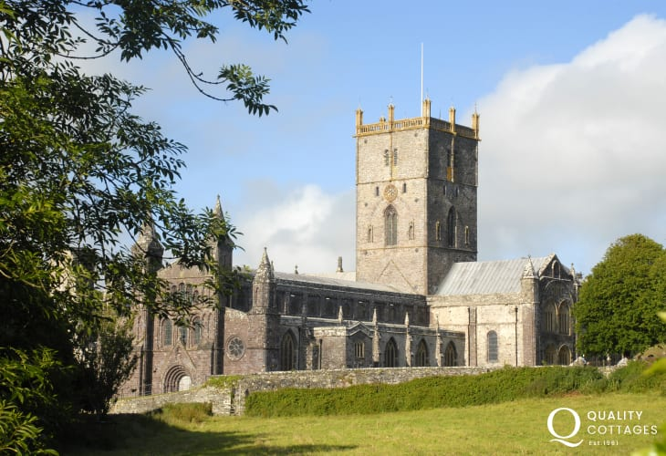 Magnificent St Davids Cathedral set in the heart of Britain's smallest city