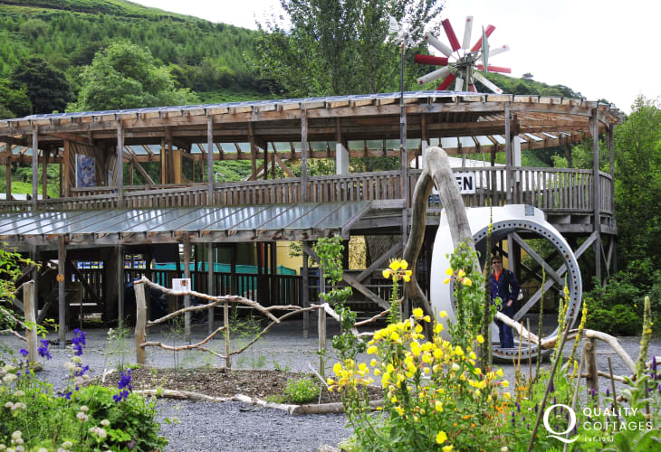 Do visit the Centre for Alternative Technology near Machynlleth