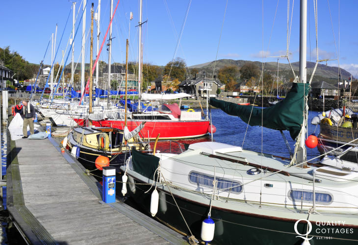 Porthmadog - one of a number of interesting towns