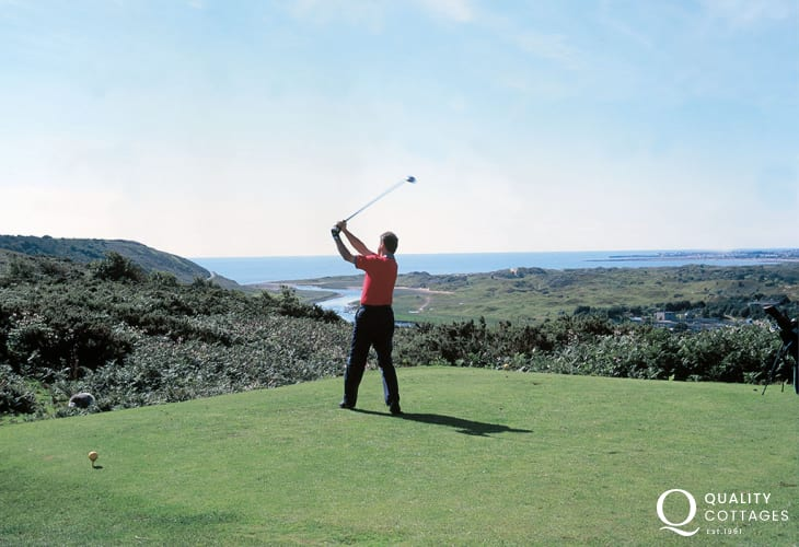 Southerndown Golf Club has stunning views towards the Bristol Channel and was once described by Peter Allyss as'one of the finest tests of golf in Wales'.