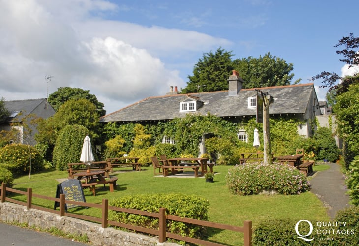 The Stackpole Inn - a friendly pub serving excellent locally sourced food plus a delightful beer garden in which to enjoy a refreshing drink