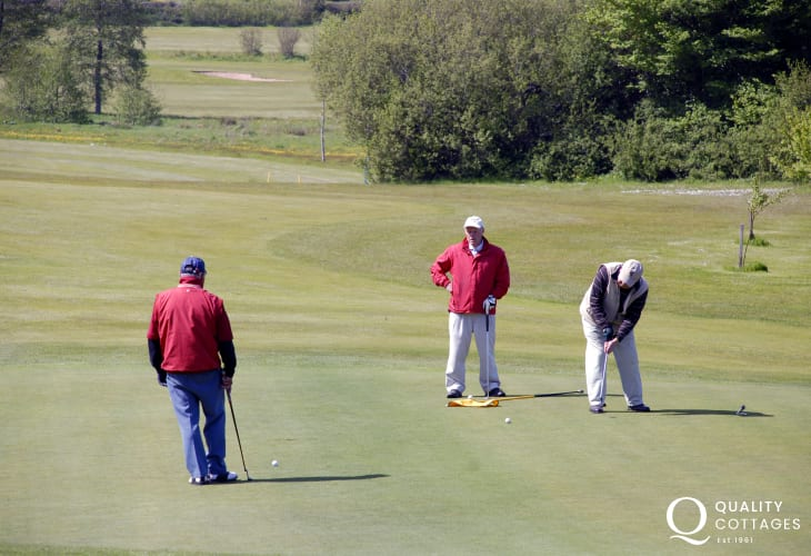 Enjoy a relaxing game of golf at Priskilly Forest - a 9 hole course set in 40 acres of mature parkland