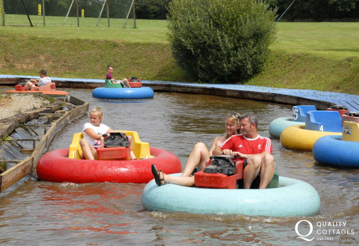 Folly Farm, Pembrokeshire Wake Park, and Heatherton are all great family days out