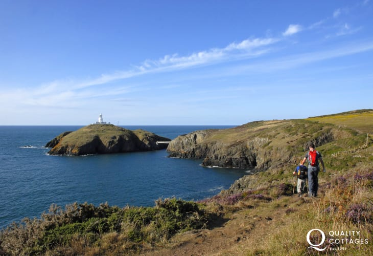 Pembrokeshire Coast Path offer fabulous cliff top walking at any time of the year