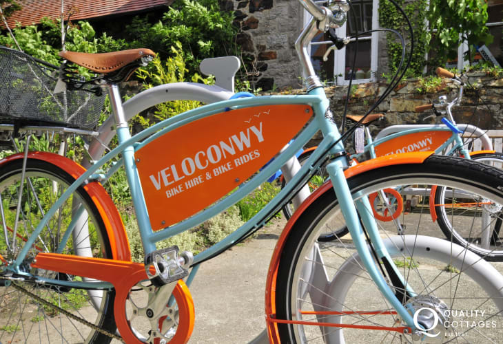 Cycle hire in Conwy