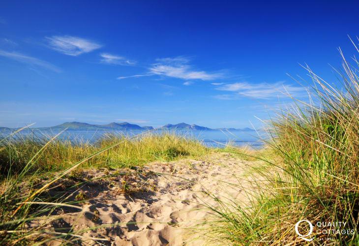 The dunes at Newborough Warren