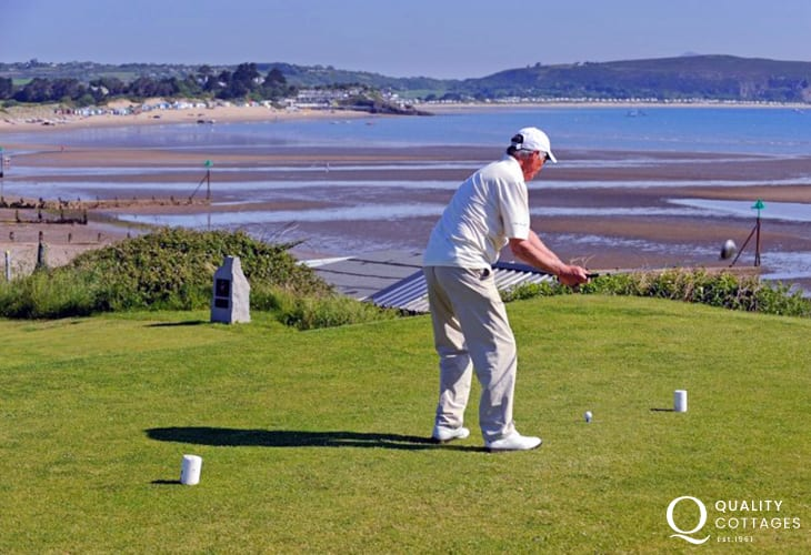 Abersoch golf course must be in one of the most striking locations in the British Isles