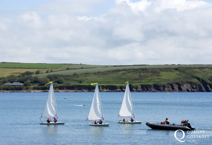 The seaside village of Dale has a wide variety of water-sports to choose from  with tuition and a full hire service available
