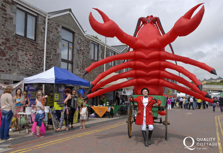 Milford Fish Festival takes place in June - a fun day out for all the family