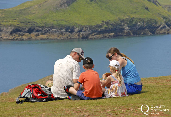 Pack a picnic and head for the coast on warm summer days