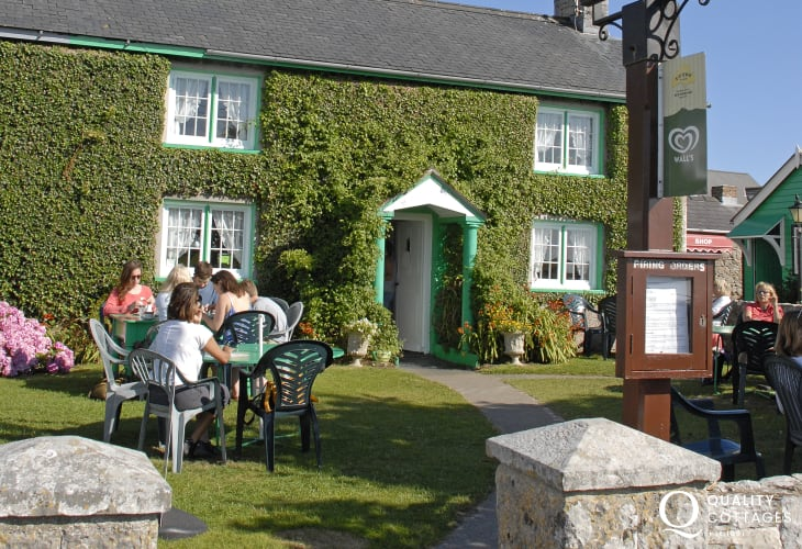 Bosherston - do visit Ye Olde Worlde Tea Room for a refreshing cuppa with home made cake after a walk round the famous Lily Ponds