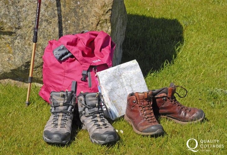 The Pembrokeshire Coast Path, Preselli Hills and Gwaun Valley are the perfect places to put on your walking boots and enjoy!