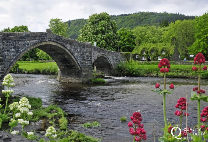 Llanrwst's most photographed bridge on the planet