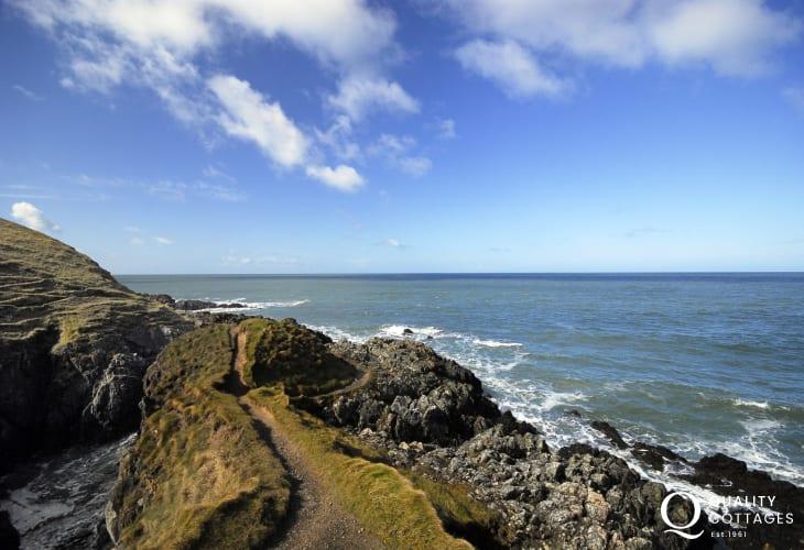 Coastal walks along the Lleyn Peninsula