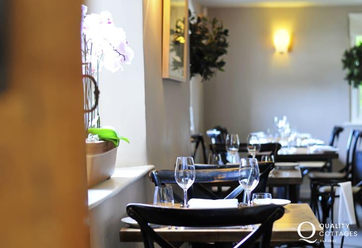 Walnut Tree restaurant, Abergavenny