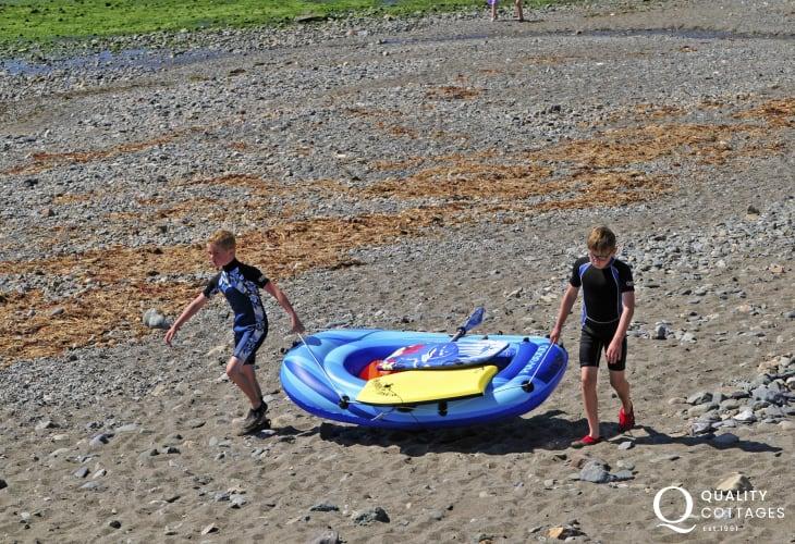 Conwy Morfa beach, near Conwy