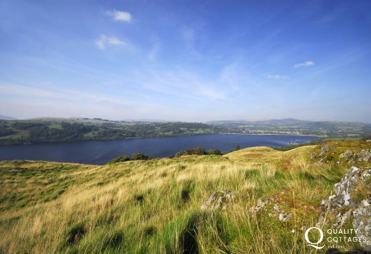 Fabulous walking opportunities around Lake Bala