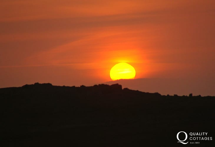 North Pembrokeshire Coast sunsets are stunning