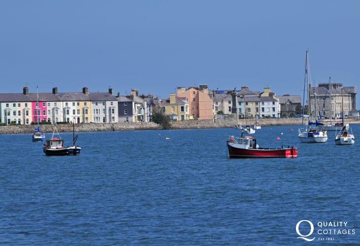 Beaumaris seaside town Anglesey