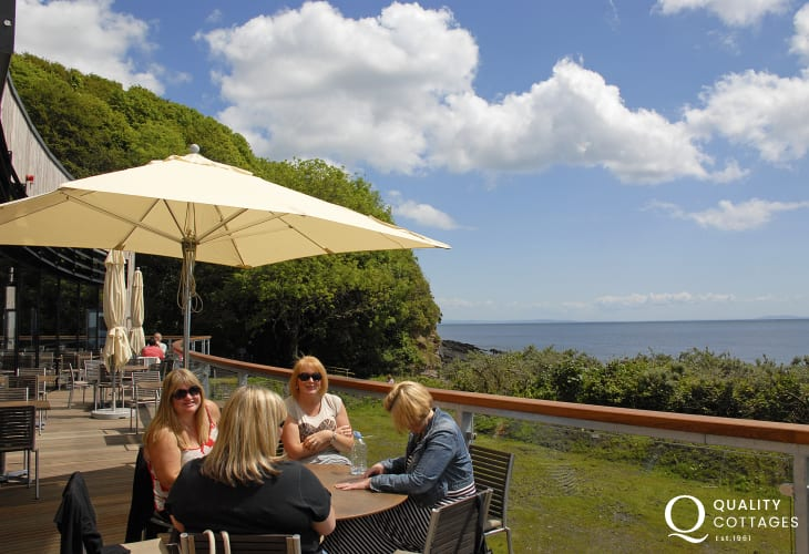 Try award winning 'Coast Restaurant' which overlooks Coppet Hall Beach