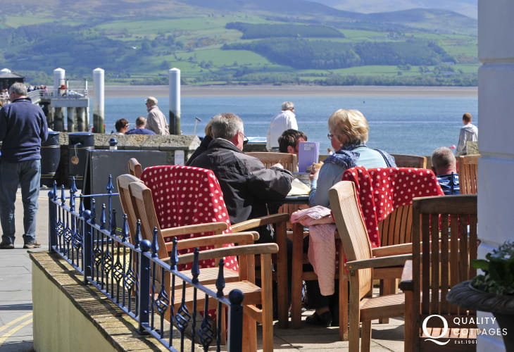 Pier Cafe on Beaumaris seafront