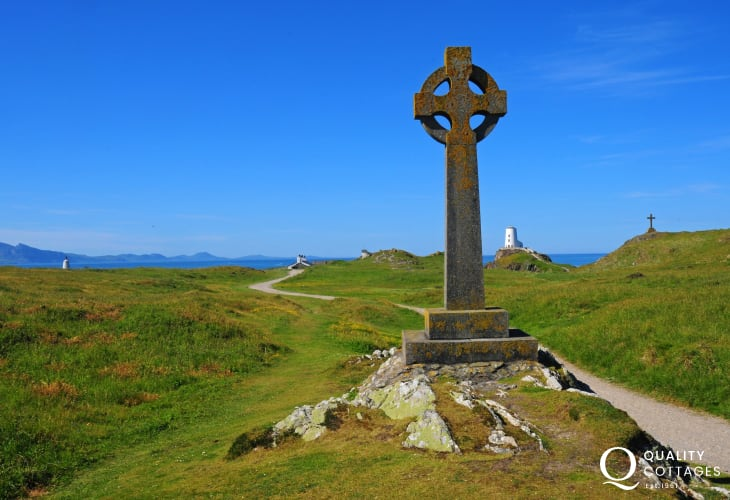 Glorious Llanddwyn Island nature reserve Anglesey