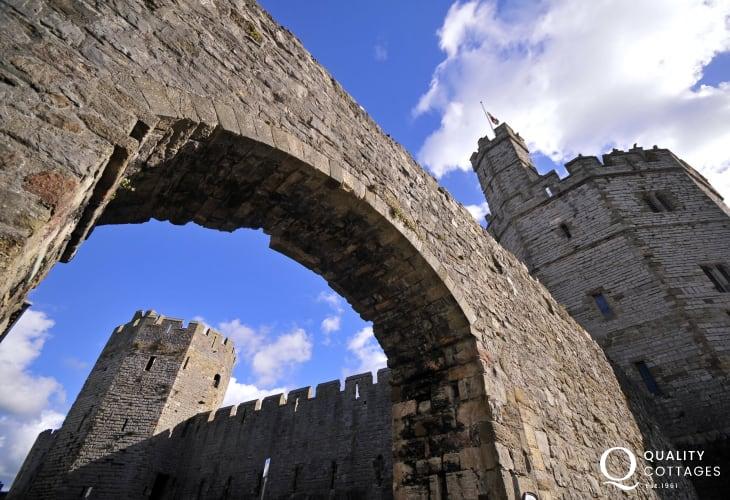 Caernarfon - wonderful for a day out
