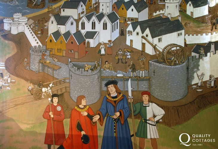 The historic Tudor Merchants House (National Trust) and Tenby Museum are both well worth a visit