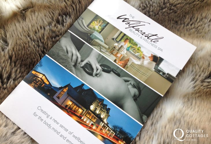 Wolfs castle Beauty and Wellness Spa where a wide selection of energising treatments