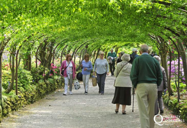 Bodnant Gardens, open all year round