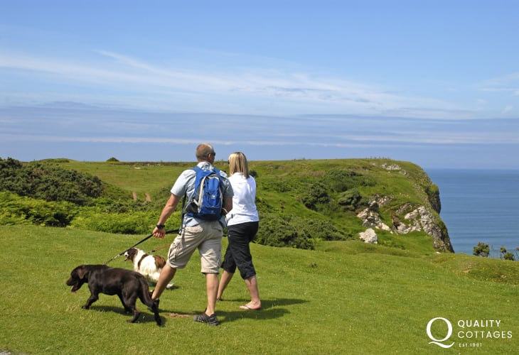 Pembrokeshire Coast Path offer fabulous cliff top walking
